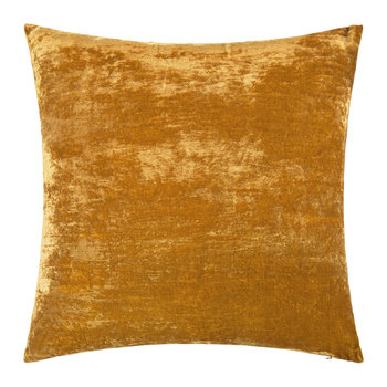 Paddy Velvet Cushion - 50x50cm - Tobacco