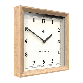 Old Joe Wall Clock - Solid Oak