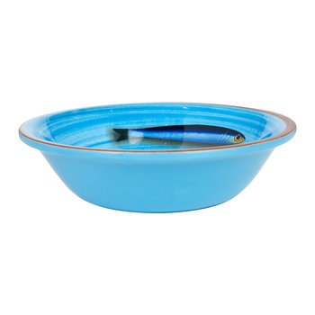 Aimone Bowl - Turquoise