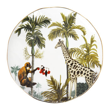 Jungle Plates - Set of 4