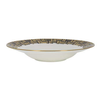 Broadway Pasta Bowl - Black/Gold/White