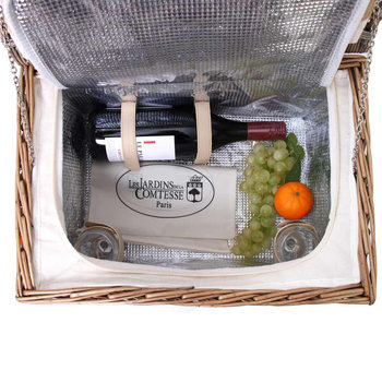 Bel Air Picnic Basket - 2 Person