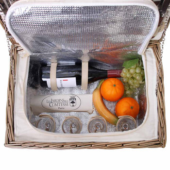 Bel Air Picnic Basket - 4 Person