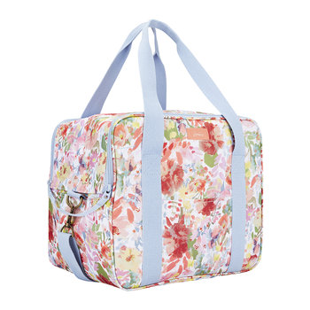 Picnic Cool Bag - White Floral