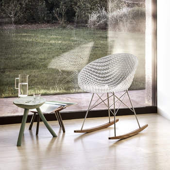 Matrix Rocking Chair - Crystal/Chrome