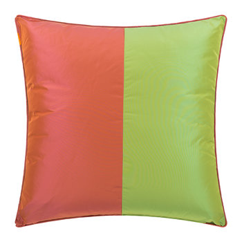 Fuengirola Cushion - 60x60cm - Green/Pink