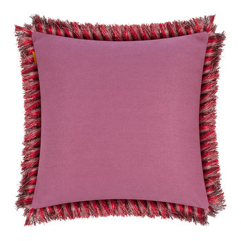 Jacaranda Tassel Edged Pillow - 45x45cm - Multi
