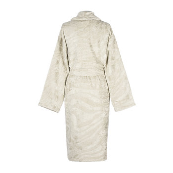 Zebrage Shawl Bathrobe - Sand