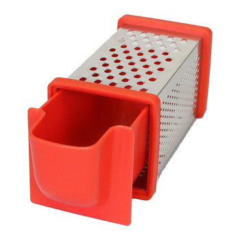 Four Sided Grater - Red