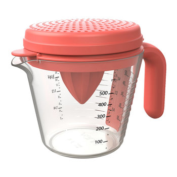 Measuring Pitcher 4 Piece Set - Red