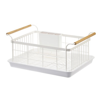 Tosca Dish Drainer - White