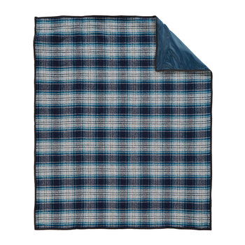 Roll Up Blanket - Bandon Navy