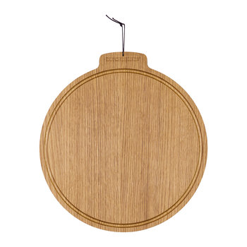 Moon Solid Wood Serving Board - Oak