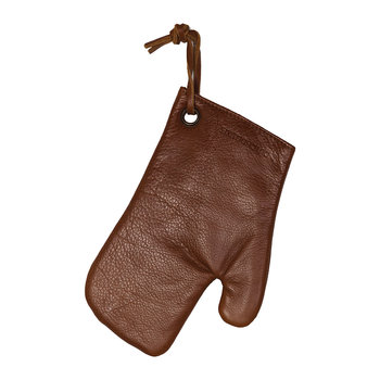 Leather Oven Glove - Classic Brown
