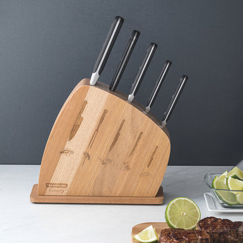 Century Knife Block - 6 Piece Set