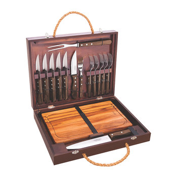 Churrasco Jumbo Cutlery & Carving Set