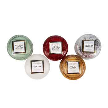 Japonica Five Macaron Candle Gift Set