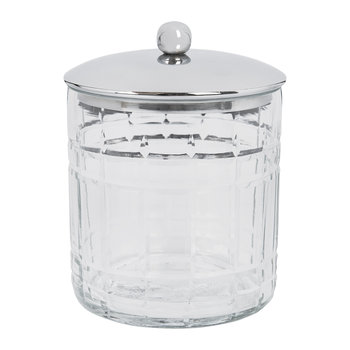 Cut Glass Storage Pot