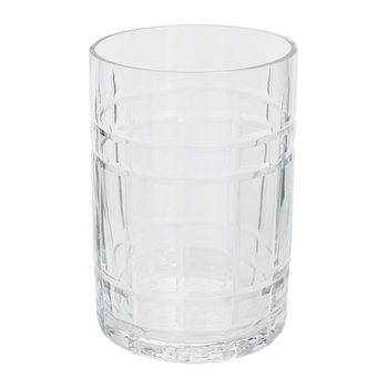 Cut Glass Toothbrush Holder