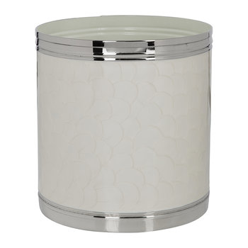 Ivory & Nickel Waste Bin