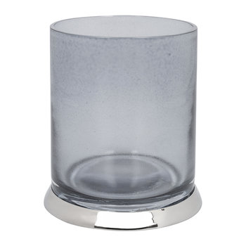 Smoked Glass Toothbrush Holder