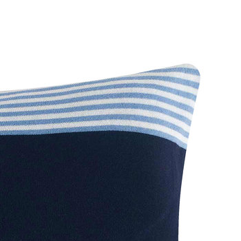 Tommy Cares Pillow - Navy - 40x60cm