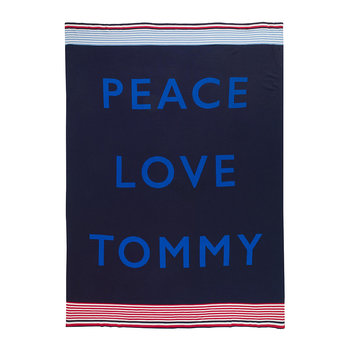 Tommy Cares Throw - Navy