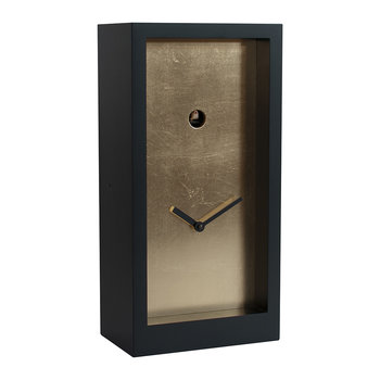 Fort Knox Cuckoo Clock - Black/Gold Leaf