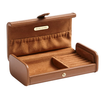 Ryan Travel Box - Saddle