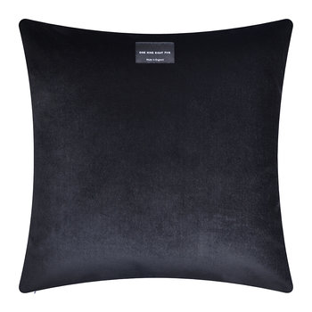 Maze Cushion - 40x40cm - Ochre/Black
