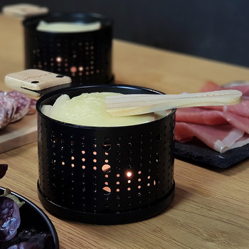 Lumi Raclette Cheese Set for 4