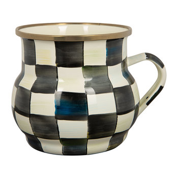 Mug Émail Courtly Check