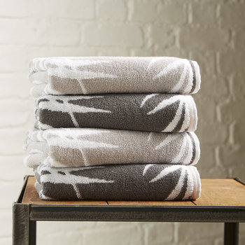 Bamboo Towel - Silver