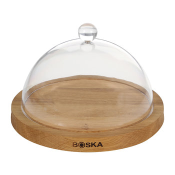 Oak Serving Board & Dome