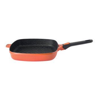 Gem Square Grill Pan - Orange
