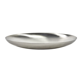 Brushed Steel Bowl