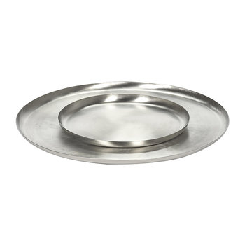 Brushed Steel Serving Dish