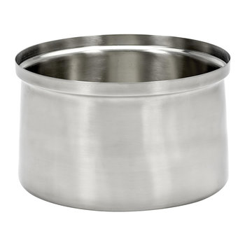 XL Brushed Steel Ice Bucket - Silver
