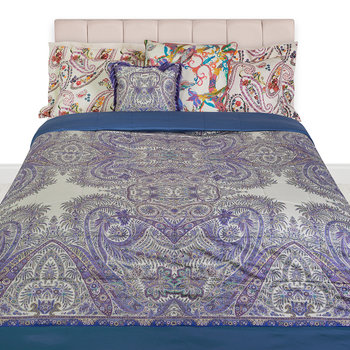 Colombara Quilted Bedspread - 270x270cm - Blue