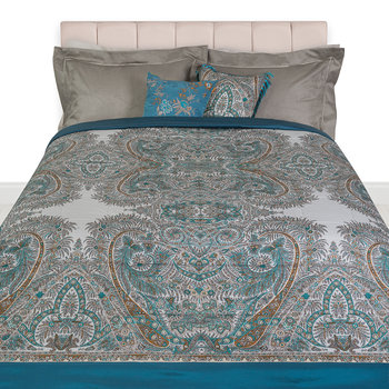 Colombara Quilted Bedspread - 270x270cm - Teal