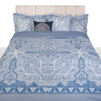 Gatsby Quilted Bedspread - 270x270cm - Blue
