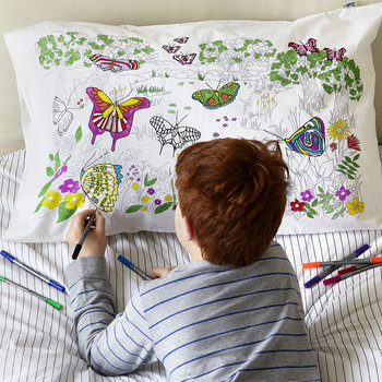 Butterfly Pillowcase - 75x50cm