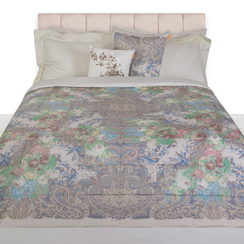 Lourmarin Quilted Bedspread - 270x270cm - White