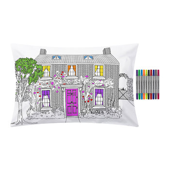 Home Decorator Pillowcase - 75x50cm