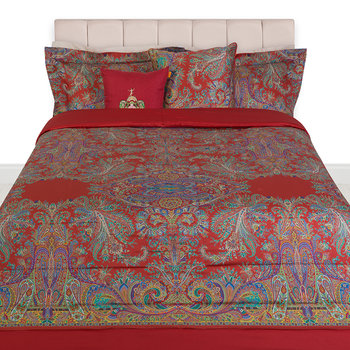 Ronda Quilted Bedspread - 270x270cm - Red