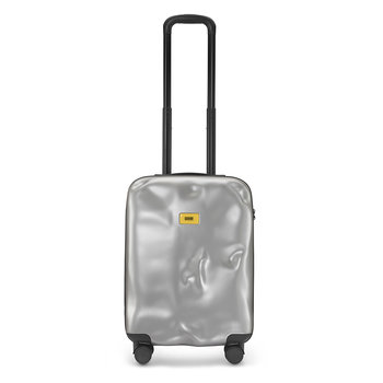 Icon Suitcase - Metal Silver