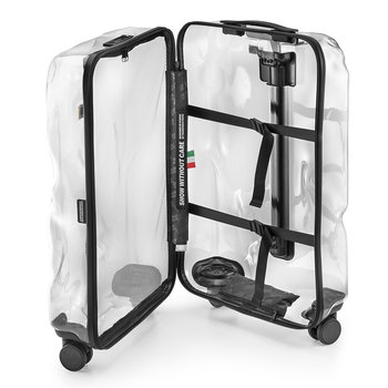 Share Suitcase - Clear - Medium