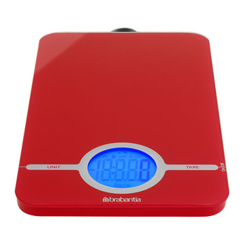 Digital Kitchen Scales - Red