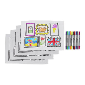 Set of 4 Placemats - Frame Design