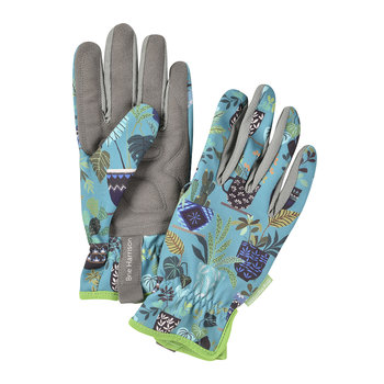 Brie Harrison Gardening Gloves - Blue